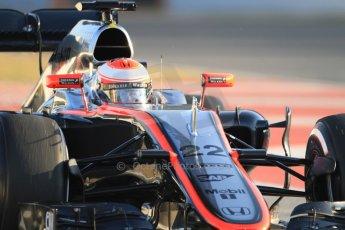 World © Octane Photographic Ltd. McLaren Honda MP4/30 – Jenson Button. Thursday 19th February 2015, F1 Winter testing, Circuit de Catalunya, Barcelona, Spain, Day 1. Digital Ref: 1187CB7B0126