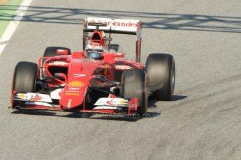 World © Octane Photographic Ltd. Scuderia Ferrari SF15-T – Kimi Raikkonen Thursday 19th February 2015, F1 Winter testing, Circuit de Catalunya, Barcelona, Spain, Day 1. Digital Ref: 1187CB7B0225