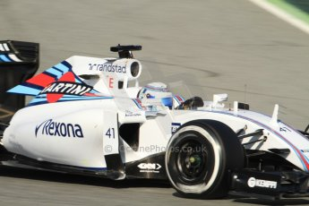 World © Octane Photographic Ltd. Williams Martini Racing FW37 – Susie Wolff. Thursday 19th February 2015, F1 Winter testing, Circuit de Catalunya, Barcelona, Spain, Day 1. Digital Ref:1187CB7B0312