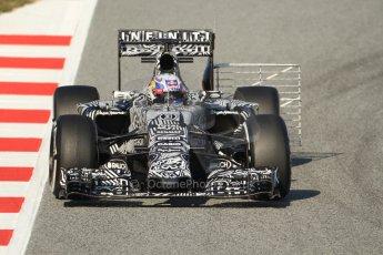 World © Octane Photographic Ltd. Infiniti Red Bull Racing RB11 – Daniel Ricciardo. Thursday 19th February 2015, F1 Winter testing, Circuit de Catalunia, Barcelona, Spain, Day 1. Digital Ref :1187CB7B0459