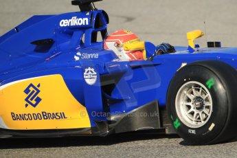 World © Octane Photographic Ltd. Sauber F1 Team C34-Ferrari – Felipe Nasr. Thursday 19th February 2015, F1 Winter testing, Circuit de Catalunya, Barcelona, Spain, Day 1. Digital Ref : 1187CB7B0475
