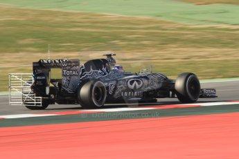 World © Octane Photographic Ltd. Infiniti Red Bull Racing RB11 – Daniel Ricciardo. Thursday 19th February 2015, F1 Winter testing, Circuit de Catalunia, Barcelona, Spain, Day 1. Digital Ref :1187CB7B0488