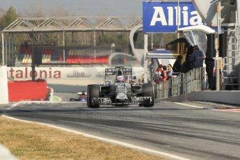 World © Octane Photographic Ltd. Infiniti Red Bull Racing RB11 – Daniel Ricciardo. Thursday 19th February 2015, F1 Winter testing, Circuit de Catalunia, Barcelona, Spain, Day 1. Digital Ref :1187CB7B0621