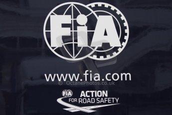 World © Octane Photographic Ltd. FIA logo. Thursday 19th February 2015, F1 Winter testing, Circuit de Catalunya, Barcelona, Spain, Day 1. Digital Ref : 1187CB7D1293