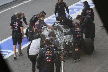 World © Octane Photographic Ltd. Infiniti Red Bull Racing RB11 – Daniel Ricciardo. Thursday 19th February 2015, F1 Winter testing, Circuit de Catalunia, Barcelona, Spain, Day 1. Digital Ref :1187CB7D1365