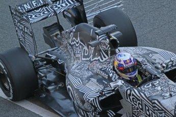 World © Octane Photographic Ltd. Infiniti Red Bull Racing RB11 – Daniel Ricciardo. Thursday 19th February 2015, F1 Winter testing, Circuit de Catalunia, Barcelona, Spain, Day 1. Digital Ref :1187CB7L1392
