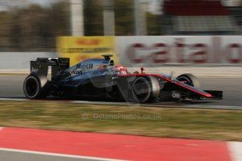 World © Octane Photographic Ltd. McLaren Honda MP4/30 – Jenson Button. Thursday 19th February 2015, F1 Winter testing, Circuit de Catalunya, Barcelona, Spain, Day 1. Digital Ref: 1187CB7L1414