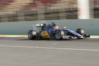 World © Octane Photographic Ltd. Sauber F1 Team C34-Ferrari – Felipe Nasr. Thursday 19th February 2015, F1 Winter testing, Circuit de Catalunya, Barcelona, Spain, Day 1. Digital Ref : 1187CB7L1459