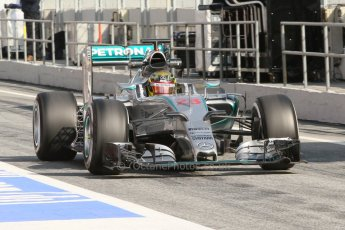 World © Octane Photographic Ltd. Mercedes AMG Petronas F1 W06 Hybrid – Pascal Wehrlein. Thursday 19th February 2015, F1 Winter testing, Circuit de Catalunya, Barcelona, Spain, Day 1. Digital Ref :1187CB7L1506