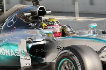 World © Octane Photographic Ltd. Mercedes AMG Petronas F1 W06 Hybrid – Pascal Wehrlein. Thursday 19th February 2015, F1 Winter testing, Circuit de Catalunya, Barcelona, Spain, Day 1. Digital Ref : 1187CB7L1508
