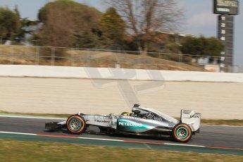 World © Octane Photographic Ltd. Mercedes AMG Petronas F1 W06 Hybrid – Pascal Wehrlein. Thursday 19th February 2015, F1 Winter testing, Circuit de Catalunya, Barcelona, Spain, Day 1. Digital Ref : 1187CB7L1628