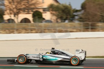 World © Octane Photographic Ltd. Mercedes AMG Petronas F1 W06 Hybrid – Pascal Wehrlein. Thursday 19th February 2015, F1 Winter testing, Circuit de Catalunya, Barcelona, Spain, Day 1. Digital Ref : 1187CB7L1638