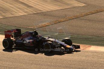World © Octane Photographic Ltd. Scuderia Toro Rosso STR10 – Max Verstappen. Thursday 19th February 2015, F1 Winter testing, Circuit de Catalunya, Barcelona, Spain, Day 1. Digital Ref: 1187LB1D5558