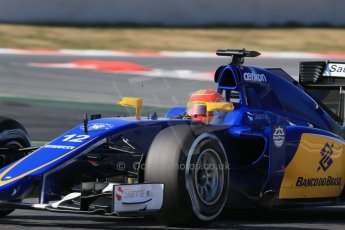 World © Octane Photographic Ltd. Sauber F1 Team C34-Ferrari – Felipe Nasr. Thursday 19th February 2015, F1 Winter testing, Circuit de Catalunya, Barcelona, Spain, Day 1. Digital Ref : 1187LB1D5769
