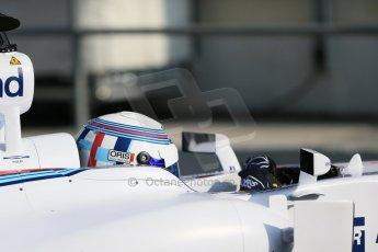 World © Octane Photographic Ltd. Williams Martini Racing FW37 – Susie Wolff. Thursday 19th February 2015, F1 Winter testing, Circuit de Catalunya, Barcelona, Spain, Day 1. Digital Ref: 1187LB1D6008