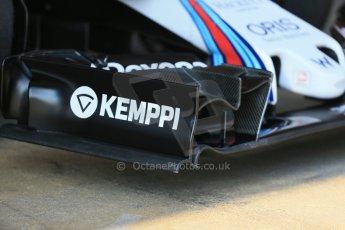 World © Octane Photographic Ltd. Williams Martini Racing FW37 – Susie Wolff. Thursday 19th February 2015, F1 Winter testing, Circuit de Catalunya, Barcelona, Spain, Day 1. Digital Ref: 1187LB1D6016
