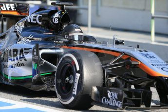 World © Octane Photographic Ltd. McLaren Honda MP4/30 – Jenson Button. Thursday 19th February 2015, F1 Winter testing, Circuit de Catalunya, Barcelona, Spain, Day 1. Digital Ref: 1187LB1D6064