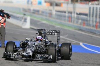 World © Octane Photographic Ltd. Infiniti Red Bull Racing RB11 – Daniel Ricciardo. Thursday 19th February 2015, F1 Winter testing, Circuit de Catalunia, Barcelona, Spain, Day 1. Digital Ref : 1187LB1D6172