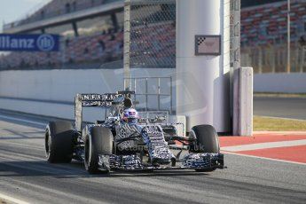World © Octane Photographic Ltd. Infiniti Red Bull Racing RB11 – Daniel Ricciardo. Thursday 19th February 2015, F1 Winter testing, Circuit de Catalunia, Barcelona, Spain, Day 1. Digital Ref : 1187LW1L5489