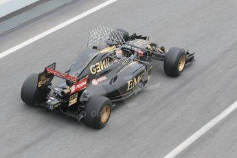 World © Octane Photographic Ltd. Lotus F1 Team E23 Hybrid – Pastor Maldonado. Saturday 21st February 2015, F1 Winter testing, Circuit de Barcelona Catalunya, Spain, Day 3. Digital Ref : 1190CB1L6960