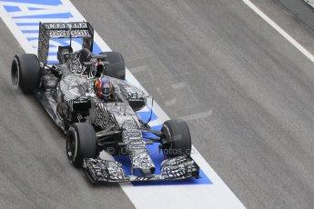 World © Octane Photographic Ltd. Infiniti Red Bull Racing RB11 – Daniil Kvyat. Saturday 21st February 2015, F1 Winter testing, Circuit de Barcelona Catalunya, Spain, Day 3. Digital Ref : 1190CB1L6967