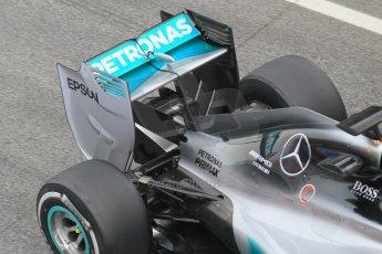 World © Octane Photographic Ltd. Mercedes AMG Petronas F1 W06 Hybrid – Lewis Hamilton. Saturday 21st February 2015, F1 Winter testing, Circuit de Barcelona Catalunya, Spain, Day 3. Digital Ref : 1190CB1L7120