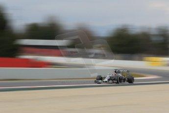 World © Octane Photographic Ltd. Infiniti Red Bull Racing RB11 – Daniil Kvyat. Saturday 21st February 2015, F1 Winter testing, Circuit de Barcelona Catalunya, Spain, Day 3. Digital Ref : 1190CB1L7770