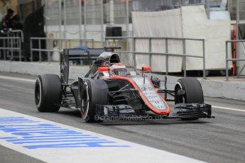 World © Octane Photographic Ltd. McLaren Honda MP4/30 – Jenson Button. Saturday 21st February 2015, F1 Winter testing, Circuit de Barcelona Catalunya, Spain, Day 3. Digital Ref: 1190CB1L7954