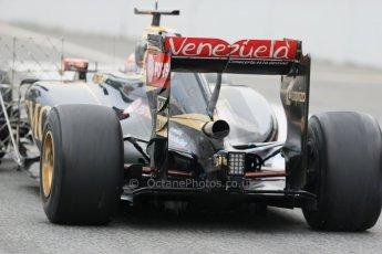 World © Octane Photographic Ltd. Lotus F1 Team E23 Hybrid – Pastor Maldonado. Saturday 21st February 2015, F1 Winter testing, Circuit de Catalunya, Barcelona, Spain, Day 3. Digital Ref : 1190LB1D7898