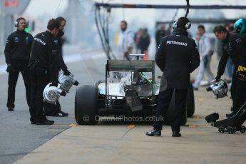 World © Octane Photographic Ltd. Mercedes AMG Petronas F1 W06 Hybrid – Lewis Hamilton. Saturday 21st February 2015, F1 Winter testing, Circuit de Catalunya, Barcelona, Spain, Day 3. Digital Ref : 1190LB1D8020