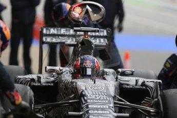 World © Octane Photographic Ltd. Infiniti Red Bull Racing RB11 – Daniel Kvyat. Saturday 21st February 2015, F1 Winter testing, Circuit de Catalunya, Barcelona, Spain, Day 3. Digital Ref : 1190LB1D8207