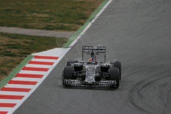 World © Octane Photographic Ltd. Infiniti Red Bull Racing RB11 – Daniil Kvyat. Saturday 21st February 2015, F1 Winter testing, Circuit de Catalunya, Barcelona, Spain, Day 3. Digital Ref : 1190LB1D8359