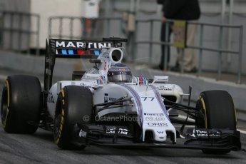World © Octane Photographic Ltd. Williams Martini Racing FW37 – Valtteri Bottas Saturday 21st February 2015, F1 Winter testing, Circuit de Catalunya, Barcelona, Spain, Day 3. Digital Ref: 1190LB1D8858