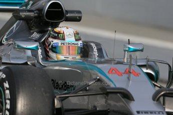 World © Octane Photographic Ltd. Mercedes AMG Petronas F1 W06 Hybrid – Lewis Hamilton. Saturday 21st February 2015, F1 Winter testing, Circuit de Catalunya, Barcelona, Spain, Day 3. Digital Ref : 1190LB1D8871