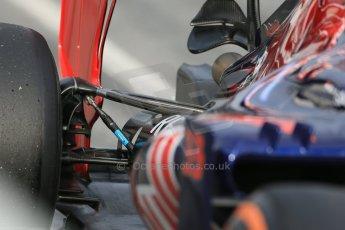 World © Octane Photographic Ltd. Scuderia Toro Rosso STR10 – Max Verstappen, Saturday 21st February 2015, F1 Winter testing, Circuit de Catalunya, Barcelona, Spain, Day 2. Digital Ref: 1190LB1D8936