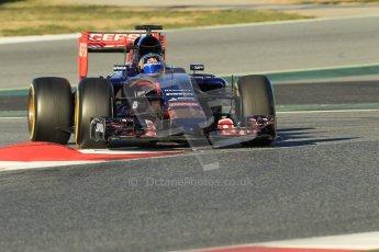 World © Octane Photographic Ltd. Scuderia Toro Rosso STR10 – Carlos Sainz Jnr. Sunday 22nd February 2015, F1 Winter testing, Circuit de Barcelona Catalunya, Spain, Day 4. Digital Ref: 1191CB1L8678