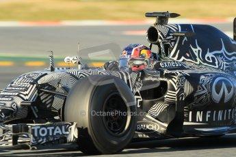 World © Octane Photographic Ltd. Infiniti Red Bull Racing RB11 – Daniil Kvyat. Sunday 22nd February 2015, F1 Winter testing, Circuit de Barcelona Catalunya, Spain, Day 4. Digital Ref : 1191CB1L8765