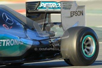 World © Octane Photographic Ltd. Mercedes AMG Petronas F1 W06 Hybrid – Nico Rosberg. Sunday 22nd February 2015, F1 Winter testing, Circuit de Barcelona Catalunya, Spain, Day 4. Digital Ref : 1191CB1L8783