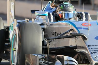 World © Octane Photographic Ltd. Mercedes AMG Petronas F1 W06 Hybrid – Nico Rosberg. Sunday 22nd February 2015, F1 Winter test #2, Circuit de Barcelona Catalunya, Spain, Day 4. Digital Ref : 1191CB1L9076