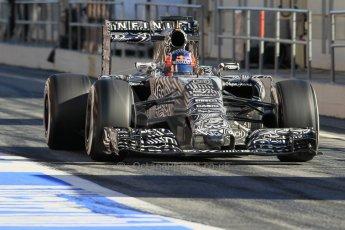 World © Octane Photographic Ltd. Infiniti Red Bull Racing RB11 – Daniil Kvyat. Sunday 22nd February 2015, F1 Winter test #2, Circuit de Barcelona Catalunya, Spain, Day 4. Digital Ref : 1191CB1L9087