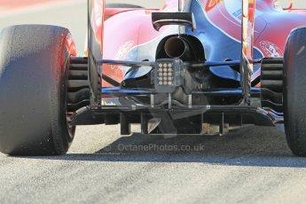 World © Octane Photographic Ltd. Scuderia Ferrari SF15-T– Sebastian Vettel. Sunday 22nd February 2015, F1 Winter test #2, Circuit de Barcelona Catalunya, Spain, Day 4. Digital Ref: 1191CB1L9103