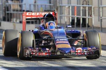 World © Octane Photographic Ltd. Scuderia Toro Rosso STR10 – Carlos Sainz Jnr. Sunday 22nd February 2015, F1 Winter test #2, Circuit de Barcelona Catalunya, Spain, Day 4. Digital Ref: 1191CB1L9113
