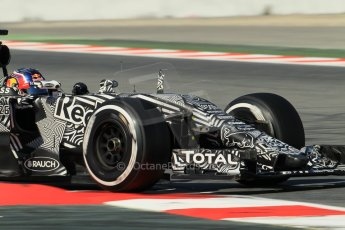 World © Octane Photographic Ltd. Infiniti Red Bull Racing RB11 – Daniil Kvyat. Sunday 22nd February 2015, F1 Winter test #2, Circuit de Barcelona Catalunya, Spain, Day 4. Digital Ref : 1191CB1L9305