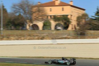 World © Octane Photographic Ltd. Mercedes AMG Petronas F1 W06 Hybrid – Nico Rosberg. Sunday 22nd February 2015, F1 Winter test #2, Circuit de Barcelona Catalunya, Spain, Day 4. Digital Ref : 1191CB1L9493