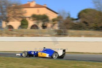 World © Octane Photographic Ltd. Sauber F1 Team C34-Ferrari – Felipe Nasr. Sunday 22nd February 2015, F1 Winter test #2, Circuit de Barcelona Catalunya, Spain, Day 4. Digital Ref : 1191CB1L9517