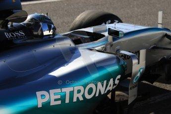 World © Octane Photographic Ltd. Mercedes AMG Petronas F1 W06 Hybrid – Nico Rosberg. Sunday 22nd February 2015, F1 Winter test #2, Circuit de Barcelona Catalunya, Spain, Day 4. Digital Ref : 1191CB7B0687