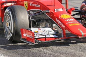 World © Octane Photographic Ltd. Scuderia Ferrari SF15-T– Sebastian Vettel. Sunday 22nd February 2015, F1 Winter test #2, Circuit de Barcelona Catalunya, Spain, Day 4. Digital Ref: 1191CB7B0733