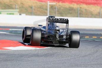 World © Octane Photographic Ltd. Infiniti Red Bull Racing RB11 – Daniil Kvyat. Sunday 22nd February 2015, F1 Winter test #2, Circuit de Barcelona, Catalunya, Spain, Day 4. Digital Ref : 1191LB1D0027