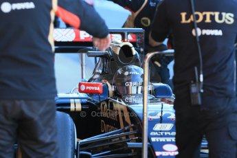 World © Octane Photographic Ltd. Lotus F1 Team E23 Hybrid – Romain Grosjean. Sunday 22nd February 2015, F1 Winter testing, Circuit de Catalunya, Barcelona, Spain, Day 4. Digital Ref : 1191LB1D9038
