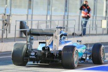 World © Octane Photographic Ltd. Mercedes AMG Petronas F1 W06 Hybrid – Nico Rosberg. Sunday 22nd February 2015, F1 Winter testing, Circuit de Catalunya, Barcelona, Spain, Day 4. Digital Ref : 1191LB1D9193